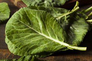 Menej než polovicu dennej dávky vitamínu A možno získať z vareného listového kelu alebo špenátu.