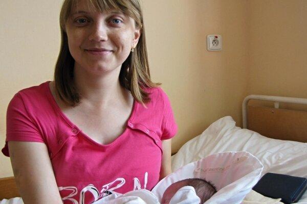 Zuzana je prvou pacientkou UNM, ktorá po transplantácii obličky porodila.