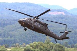 Na snímke UH-60 BLACKHAWK počas Medzinárodných leteckých dní SIAF 2019.
