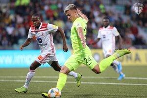 Michal Tomič sa stal strelcom víťazného gólu.