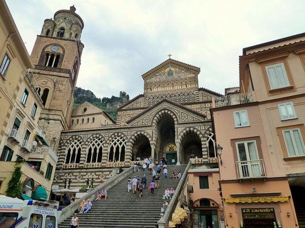 Amalfi, katedrála sv. Ondreja.