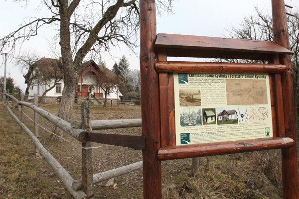 Prípad sa stal blízko lesníckej osady Kyslinky.