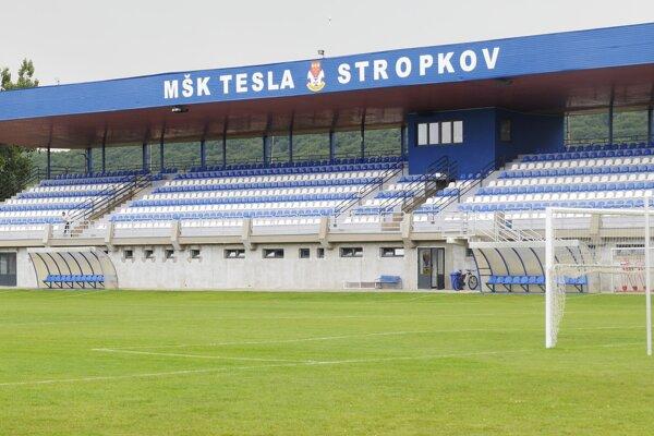 Futbalový štadión v Stropkove.