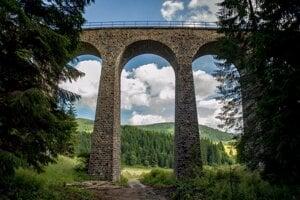 Chmarošský viadukt je pastvou pre oči.