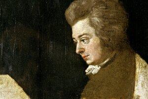 Nedokončený Mozartov portrét namaľovaný jeho švagrom Josephom Lange označili blízki za najvernejšiu podobizeň umelca.