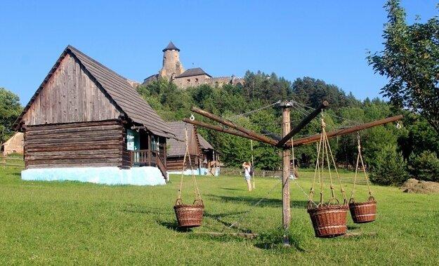Hrad Ľubovňa a skanzen