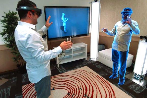 3D kamery nasnímaju obraz a reč a prenesú ich k adresátovi.