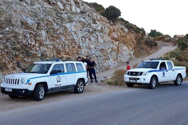 Grécka polícia.