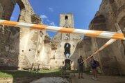 V priestoroch kláštora sa nachádza aj archeologické nálezisko