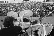Koncerty mladosti v rokoch 1976 a 1977 zaplnili pezinský amfiteáter.