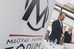 Zsolt Simon, predseda politickej strany Magyar Fórum – Maďarské fórum.