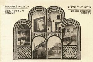 Pohľadnica múzea (Židovské Múzeum, Prešov)