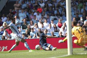 Gareth Bale prihráva na úvodný gól.