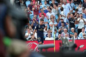 Lucas Vázquez sa raduje zo svojho gólu.