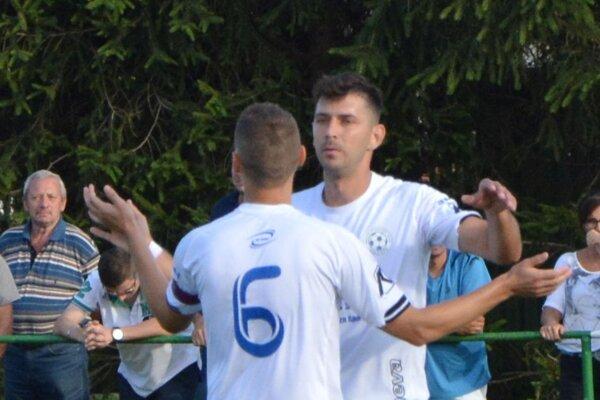 Peter Rybanský strelil v Jacovciach štyri góly.