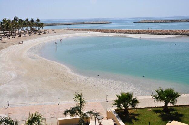Dokonalé pláže v oblasti Salalah