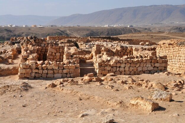 Ruiny starovekého mesta Sumharram