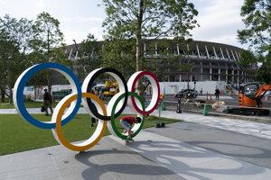 Japonci finišujú s prípravami na olympijské hry v Tokiu 2020.