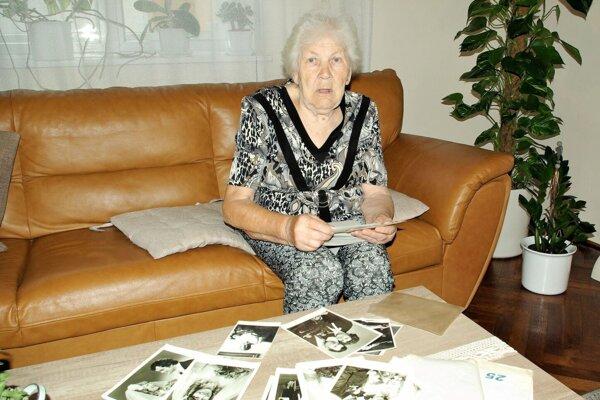 Sklabinčanka Želmíra Majerčíková si na udalosti z roku 1944 dobre pamätá.
