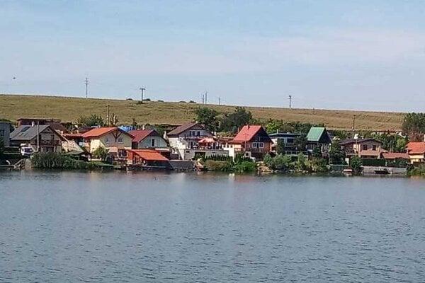 Čanianske jazero.