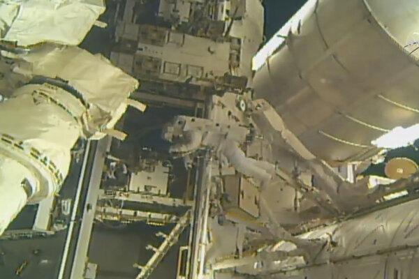 Vesmírna stanica ISS.