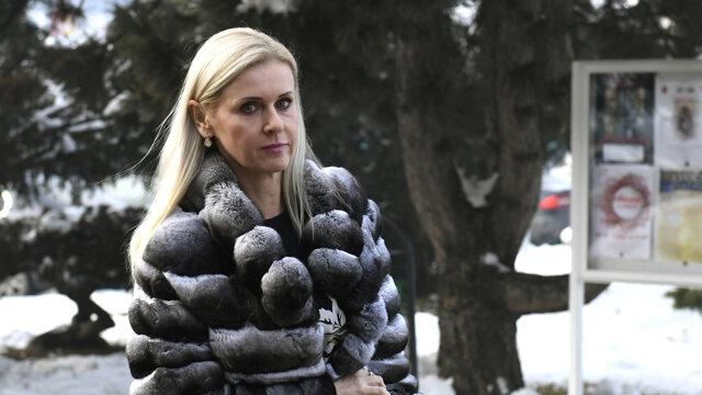 Štátna tajomníčka ministerstva spravodlivosti SR Monika Jankovská.