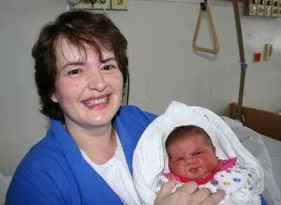 """pôrodná váha """"sloníka vanesy"""", ako ju volá jej mama jana hlávková, bola 6100 gramov a merala 56 centimetrov."""