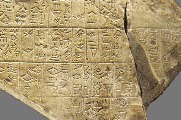 Záhadná tabuľka hovorí o rozvinutej, starodávnej kultúre.
