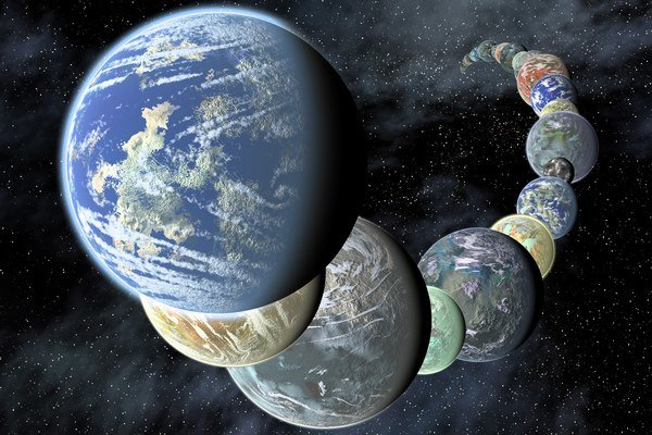 Planéty veľké zhruba ako Zem  netvoria v Mliečnej ceste žiaden exkluzívny klub.