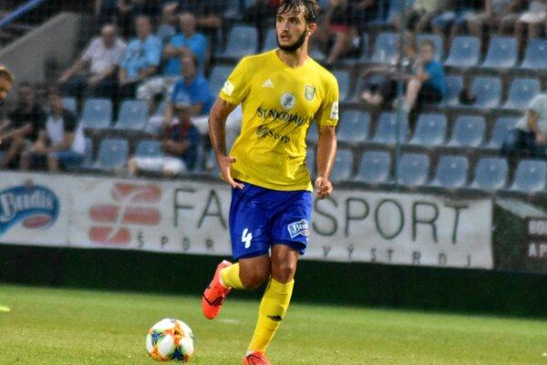 Ukrajinec Vadym Červak vystužil defenzívu michalovského tímu.
