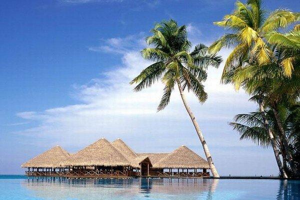 Zvýšená hladina morí ohrozuje aj turistický raj Maldivy.
