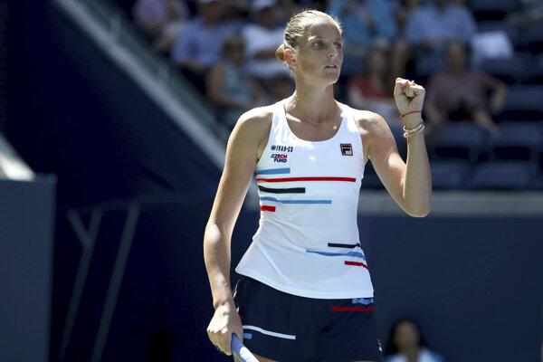 Karolína Plíšková na US Open 2019.