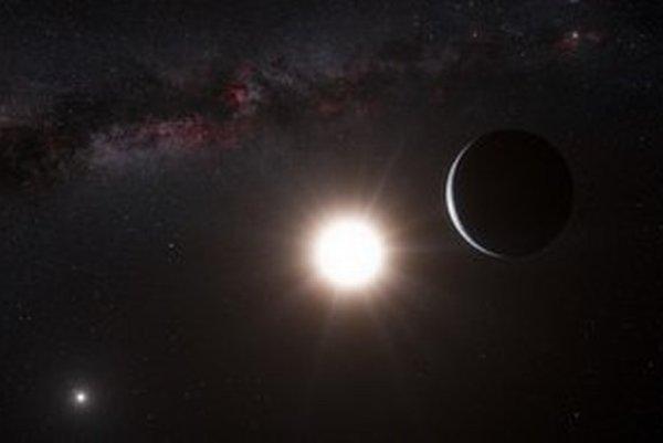Nová exoplanéta je našej sústave najbližšie. VIZUALIZÁCIA – SITA/AP