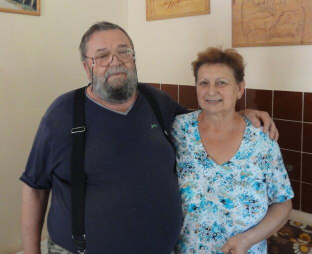Organizátori sympózia, Rebeka a Július Déžiovci.
