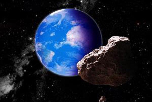 Asteroidy prelietavajú popri Zemi veľmi často.