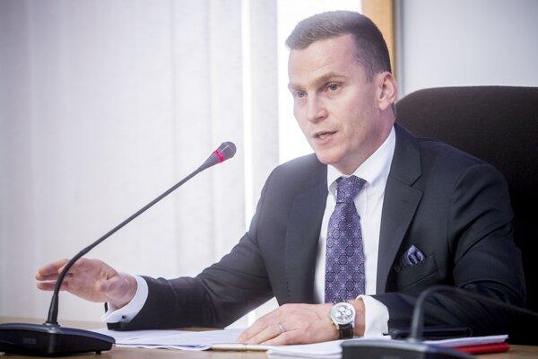 Šéf ÚVO Miroslav Hlivák.
