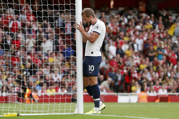 Harry Kane z Tottenham Hotspur.