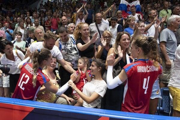 Zvolenčanka Veronika Hrončeková (vpravo) sa lúči s reprezentačnou kariérou.