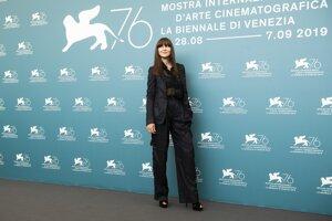Herečka Monica Bellucci.