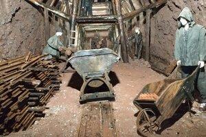 8 Podzemie pevnosti Stachelberg - ukážky výkopových prác