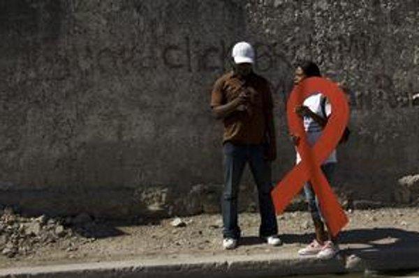 AIDS je najväčším problémom v Afrike.