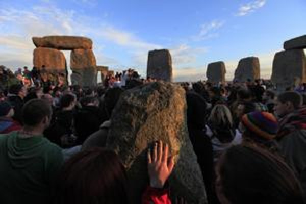 Stonehenge dodnes slúži na vítanie slnka.