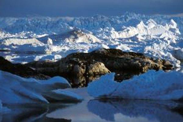 Ľad sa topí aj v Grónsku.