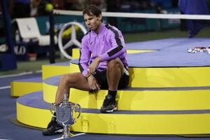 Rafael Nadal po US Open 2019.
