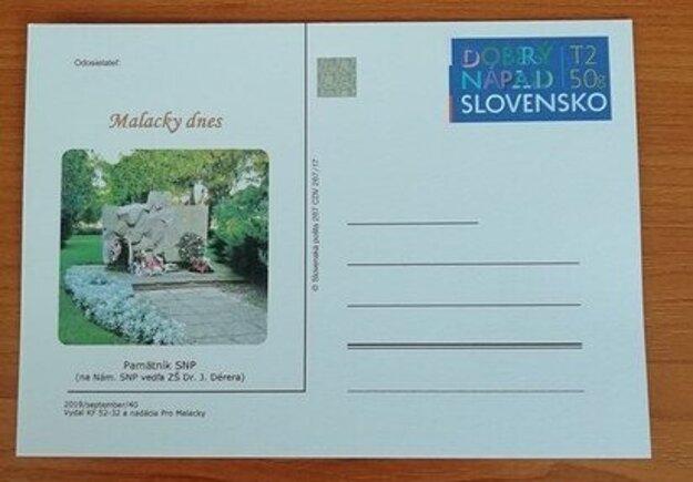 Už 40. poštový lístok predstavili malackí filatelisti na Behu vďaky SNP.