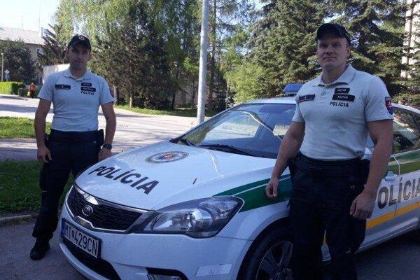 Policajti odviedli dobrú robotu.