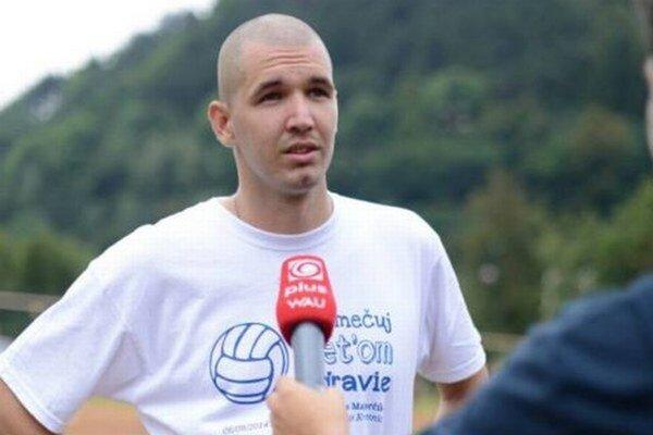 Matej počas jedného z prvých ročníkov turnaja.