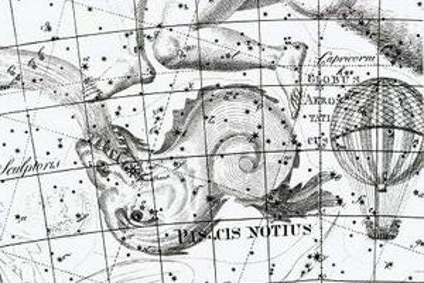 Ilustrácia z atlasu Johanna Bodeho Uranographia z roku 1801.