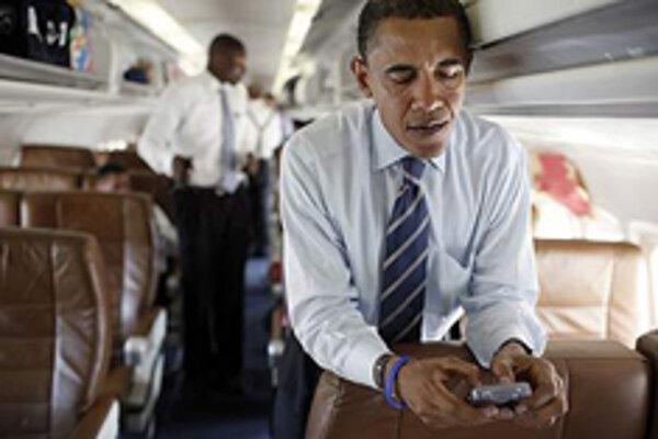 Barack Obama a jeho BlackBerry