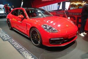 Autosalón Frankfurt 2019 - Porsche Panamera